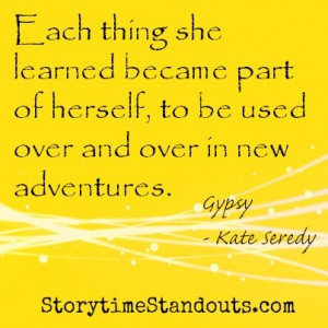 Storytime Standouts shares quotes from Children's Books including Gypsy