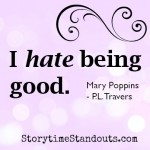 Storytime Standouts shares quotes from Children's Books Including Mary Poppins