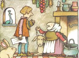 Storytime Standouts features Strega Nona including this illustration by Tomie de Paola