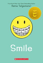 A Middle Grade Teacher's To Be Read List Smile by Raina Telgemeier