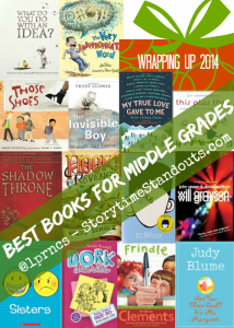 Best Books for middle grade readers
