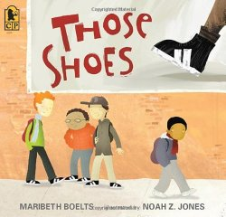 2014 best books for middle grades Including Those Shoes
