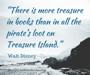 There is more treasure in books than in all the pirates loot on Treasure Island  booklover quote