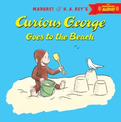 Beach theme picture books including Curious George Goes to the Beach