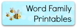 Word Family Printables from Storytime Standouts