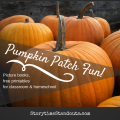 Pumpkin patch theme picture books and printables for homeschool and kindergarten