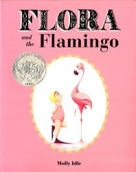 Flora the Flamingo - wordless picture book by Molly Idle