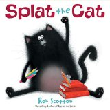 Storytime Standouts reviews Splat the Cat by Rob Scotton