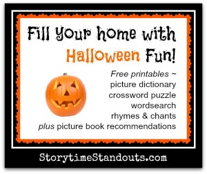 Fill your home with Halloween Fun from Storytime Standouts