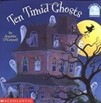 Storytime Standouts looks at Halloween-theme picture books including Ten Timid Ghosts by Jennifer O'Connell