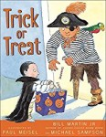 Storytime Standouts looks at Halloween-theme picture books including Trick or Treat by Bill Martin and Michael Sampson, illustrated by Paul Meisel