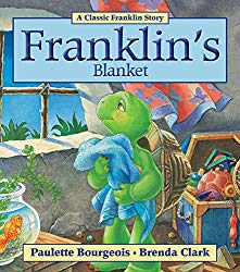 Franklin's Blanket is a picture book about a child's security object