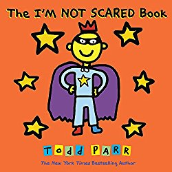 The I'M NOT SCARED Book can help children deal with fears and worries.