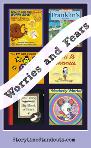 Picture Books About Worries and Fears are a great resource at home and in classrooms.