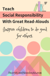 Check our books that encourage social responsibility.