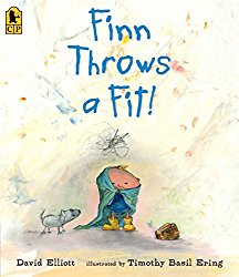 Picture books about anger and bad moods including Finn Throws a Fit