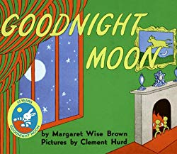 Goodnight Moon written by Margartet Wise Brown and illustrated by Clement Hurd