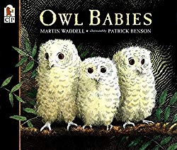 Owl Babies by Martin Waddell and Patrick Benson