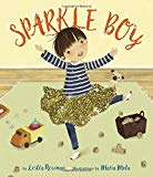Sparkle Boy is a picture book that looks at gender stereotypes and fluidity