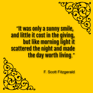 F Scott Fitzgerald inspirational quote