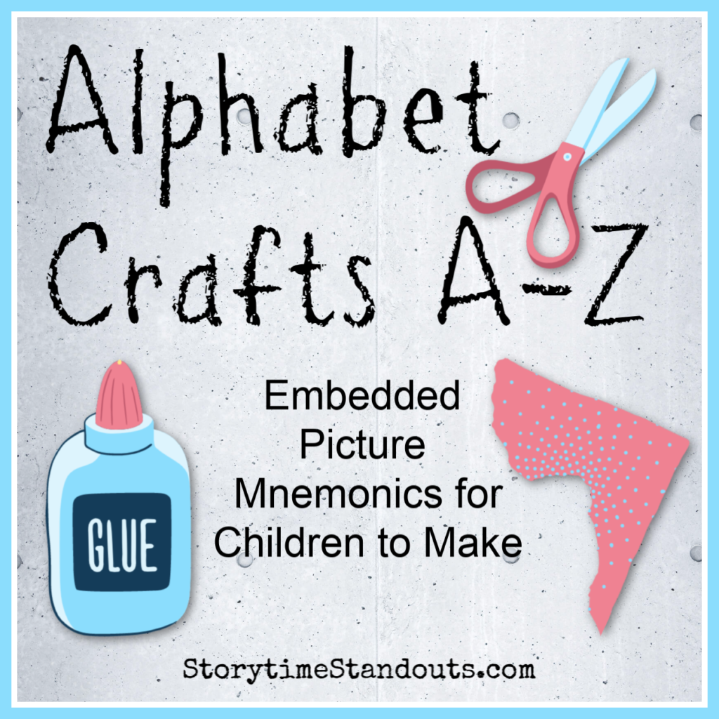 Alphabet craft ideas for every letter.