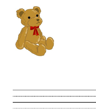Teddy Bear theme interlined paper for children is a free printable included in our Storytime Fun with Bears.
