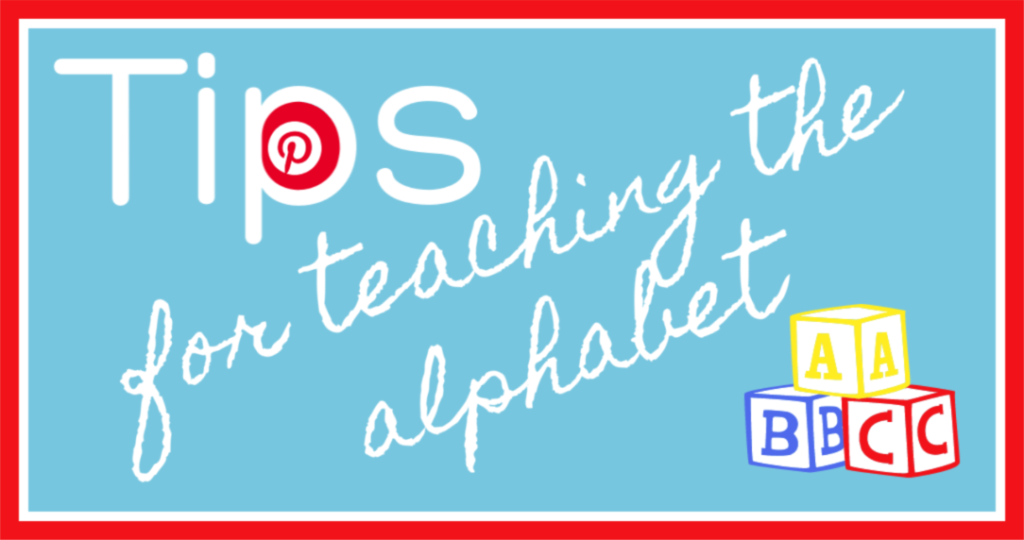 Storytime Standouts' Pinterest Board about teaching the alphabet